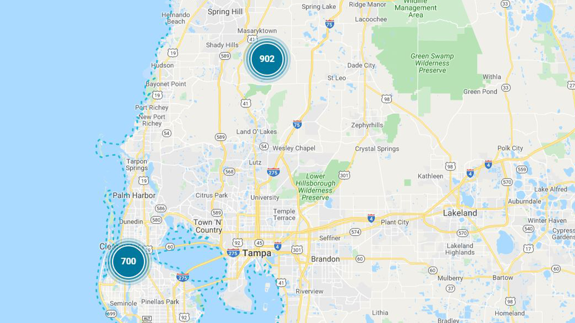 Power outages affect Duke Energy and Lakeland Electric ... on comcast outage map, ameren outage map, nstar outage map, ppl outage map, time warner cable outage map, entergy outage map, sdg&e outage map, northeast utilities outage map, dominion power outage map, duke energy report outage, american electric power outage map, aep outage map, georgia power outage map, sprint outage map,