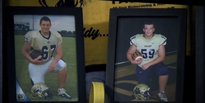 Former Durant Football Player Now Has Device Hopes To