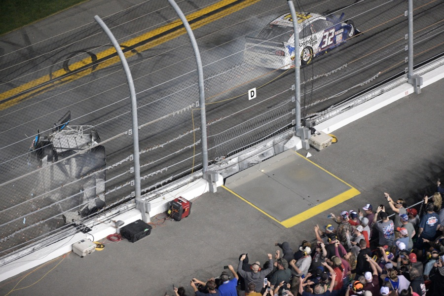 Photos Driver Ryan Newman Hospitalized After Horrific Wreck At
