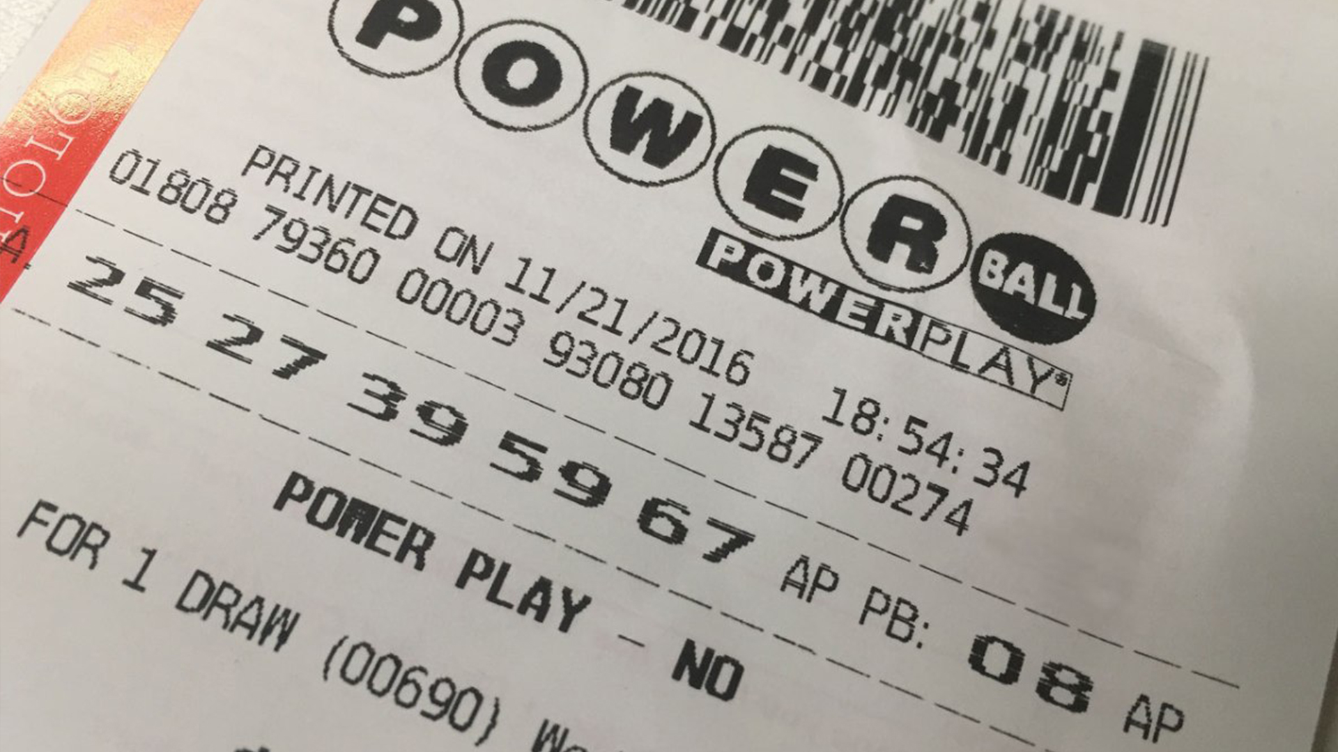 Feeling Lucky Here Are The Winning Numbers For The Powerball Jackpot Worth 410 Million Wfla