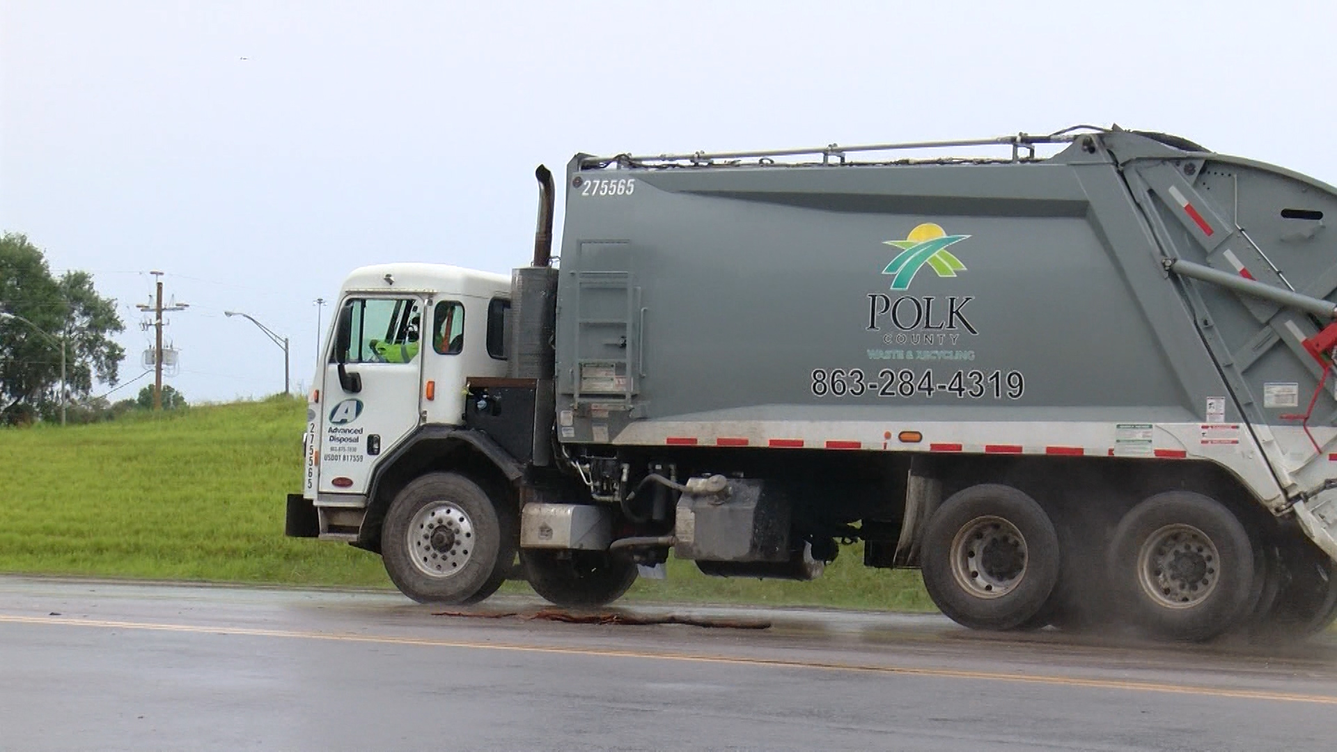 Polk Co. landfill sees spike in traffic, 750K more pounds of trash