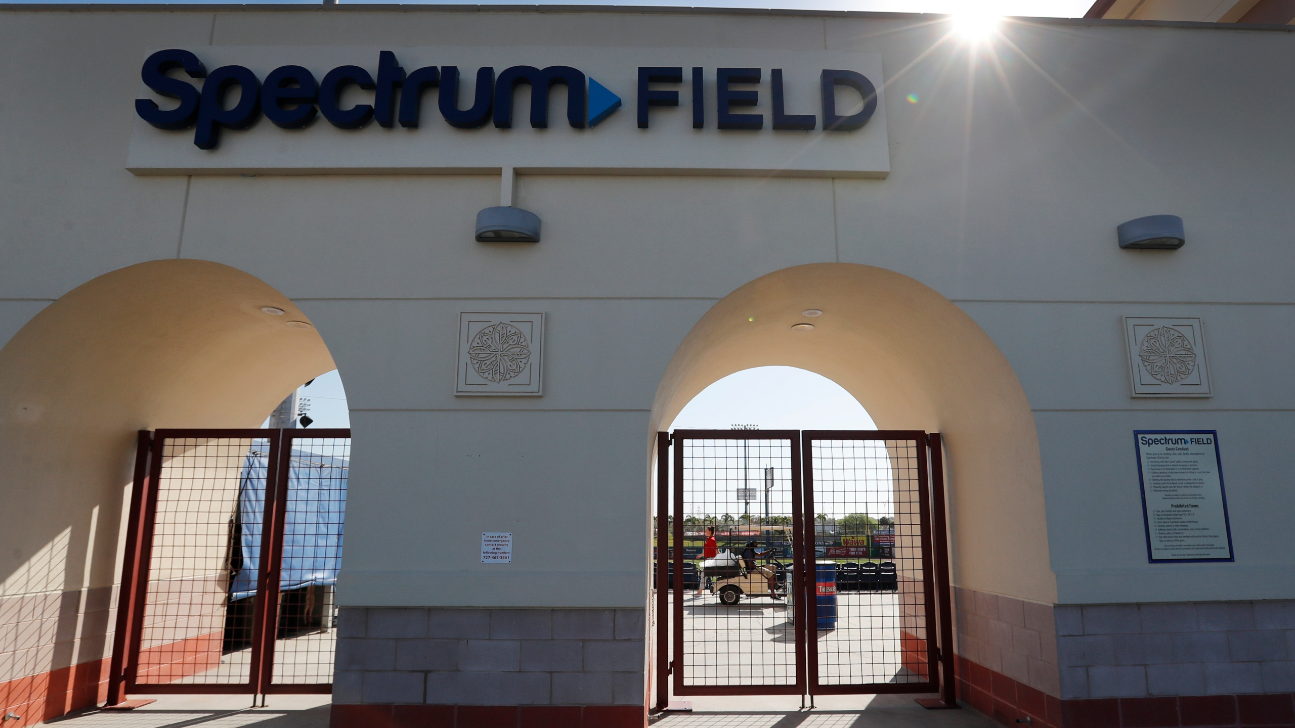 Spectrum Field Halloween 2020 Coronavirus outbreak at Phillies camp in Clearwater | WFLA