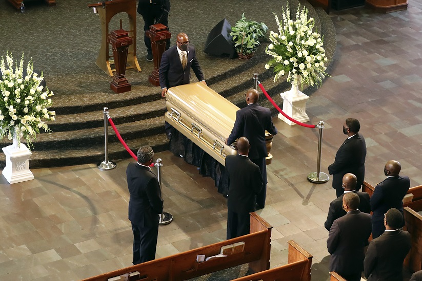 Mourners Bid Farewell To Rayshard Brooks At Historic Church Wfla