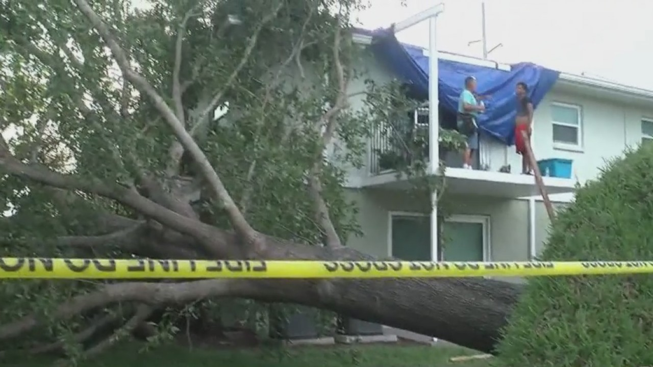 Afternoon Thunderstorms Cause Roof Damage To Seminole Apartment Wfla