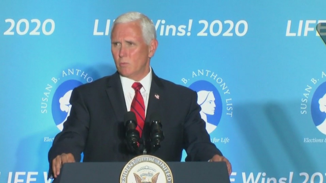 Vice President Mike Pence makes campaign stops in Pinellas County