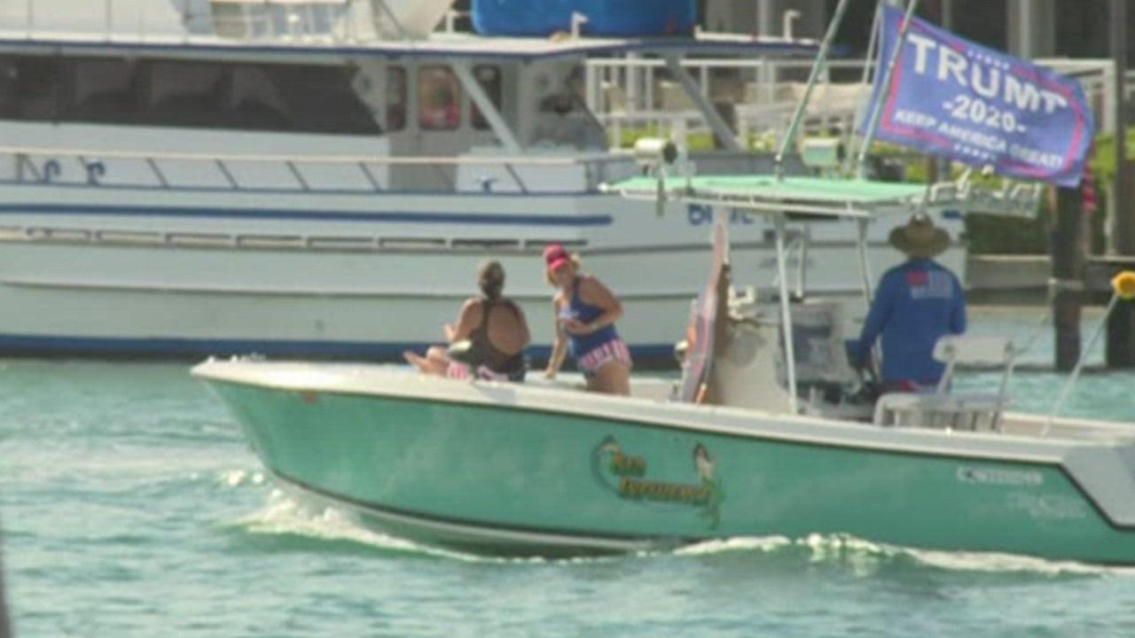 Trump Boat Parade Sets Sail In Florida Wfla