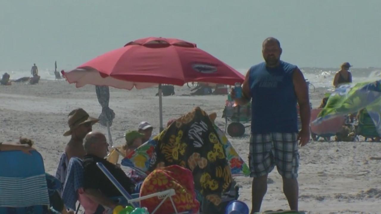 Beach brawl brewing over umbrella use on Belleair Beach