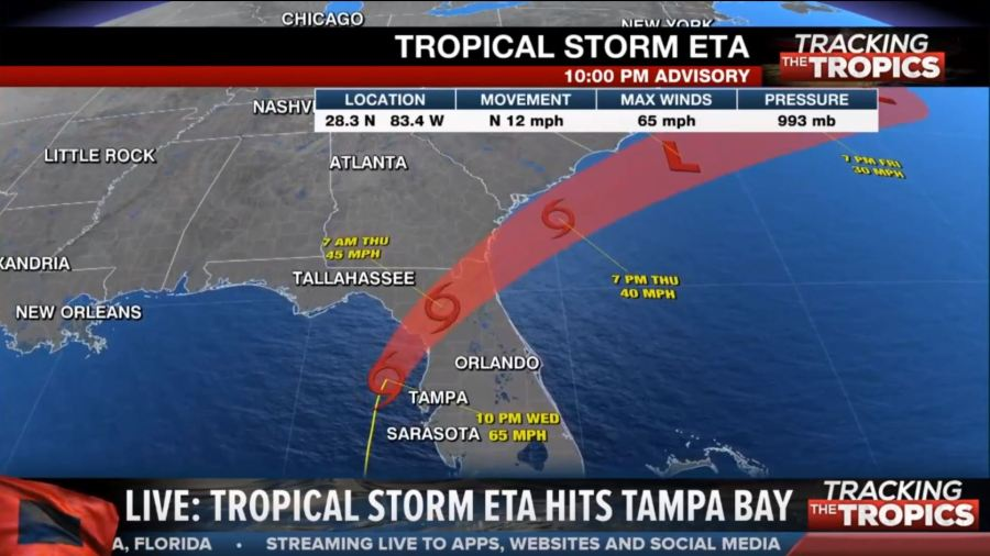 Tracking The Tropics Eta Brings Heavy Rain Winds Flooding To Tampa Bay Wfla Making the playoffs for the first time in 13 years is just a start for the tampa bay buccaneers. tracking the tropics eta brings heavy