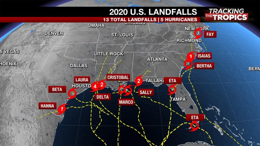 Tracking the Tropics: Record-breaking 2020 hurricane season drawing to a close