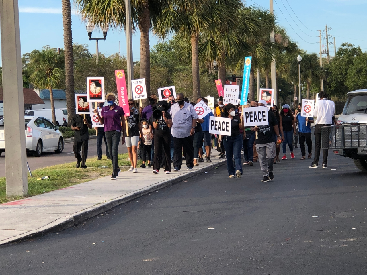 'Enough is Enough' march in St. Petersburg demands end to gun violence
