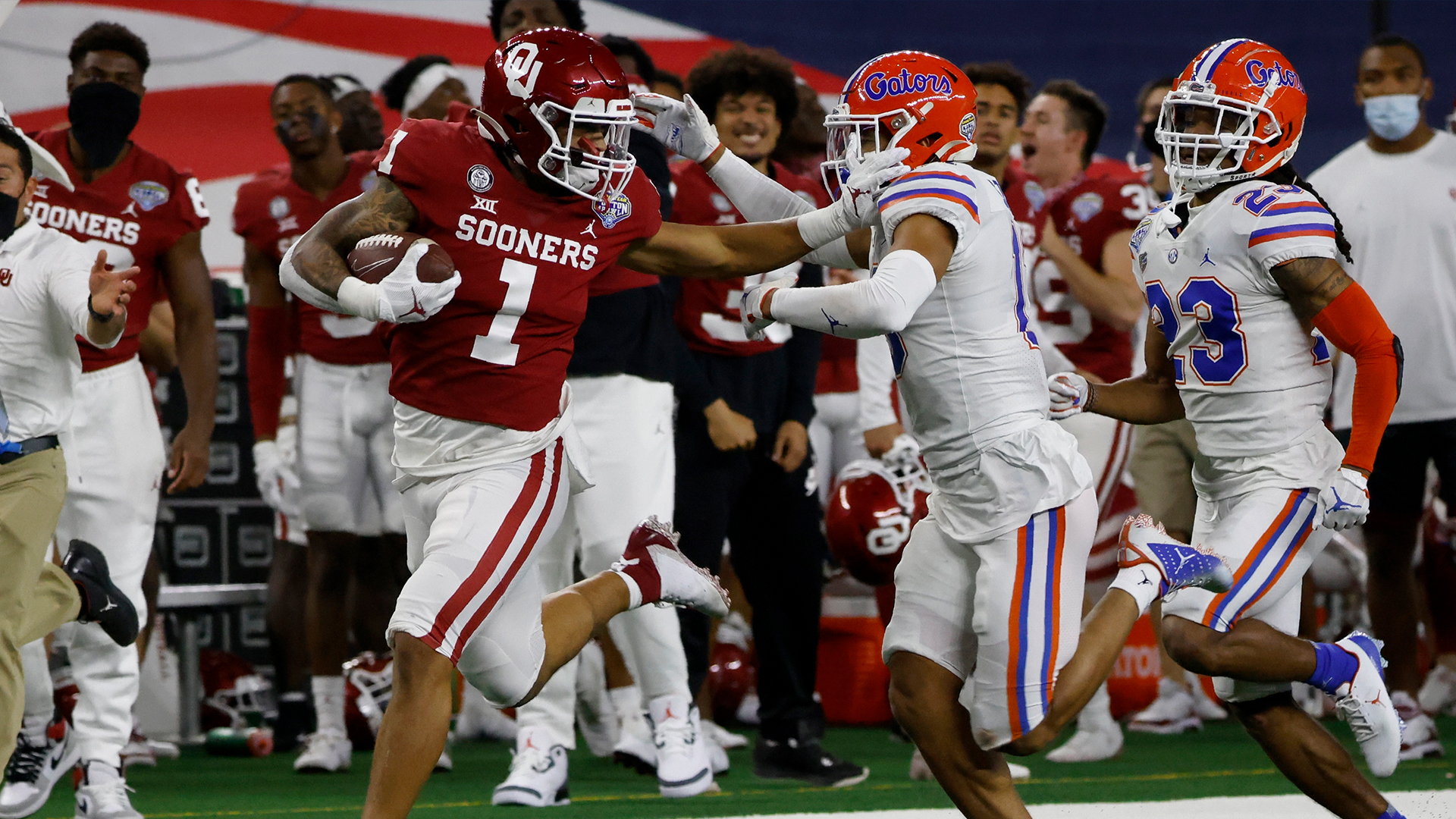 Gators rattled: No. 8 Oklahoma routs Florida in Cotton Bowl | WFLA