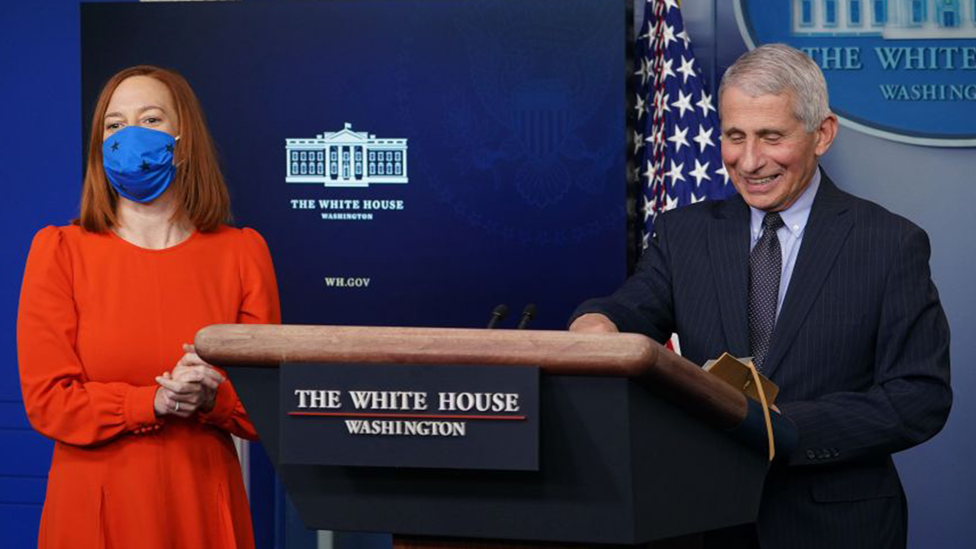 Dr. Fauci resumes coronavirus briefings at White House under Biden  administration | WFLA