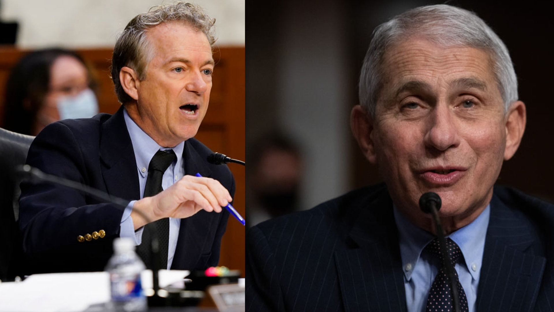 Isn't it just theater?': Rand Paul grills Anthony Fauci over continued mask  use among vaccinated   WFLA