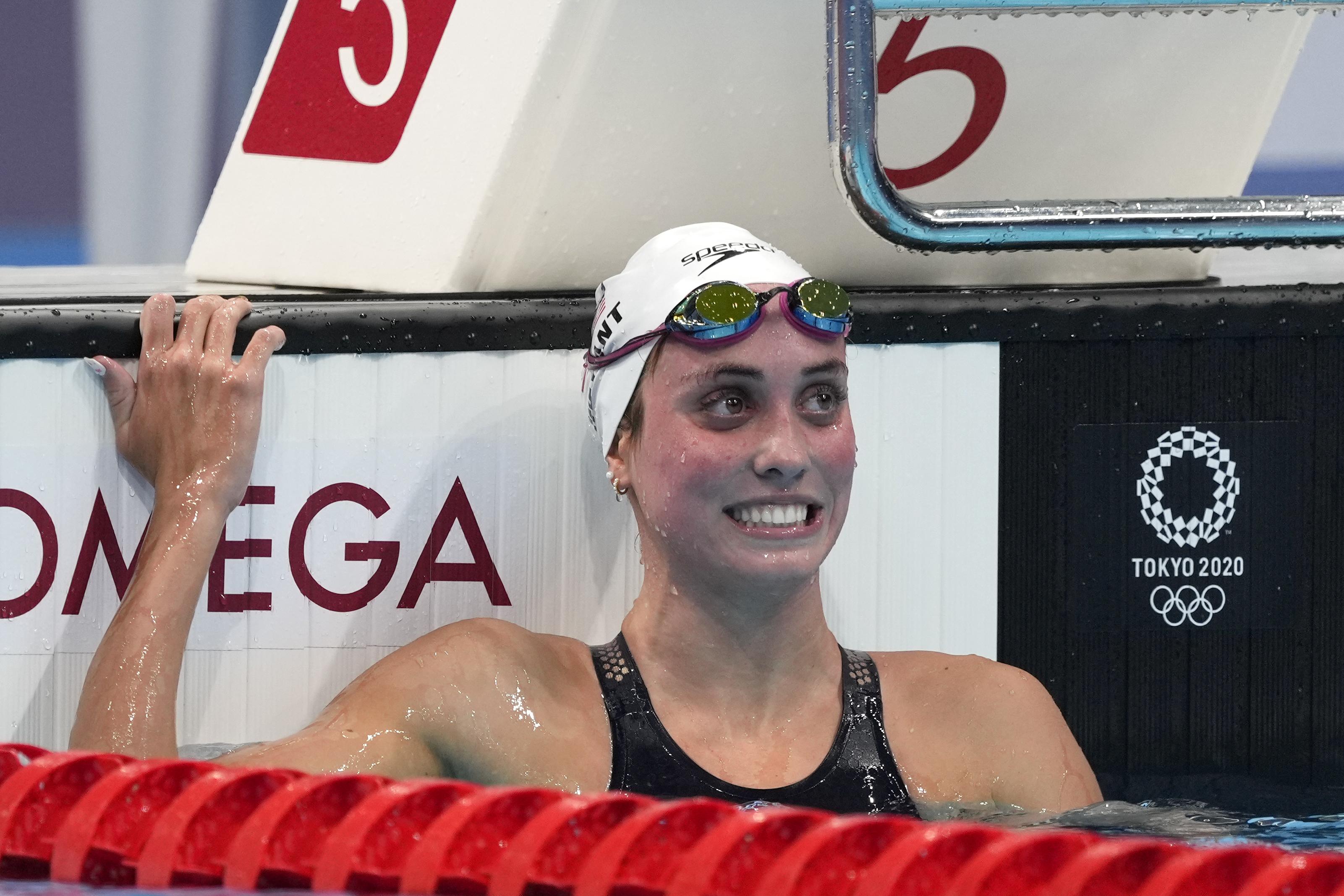 Sarasota Olympian Swimmer Emma Weyant Finishes 2nd In 400m Individual Medley Wfla