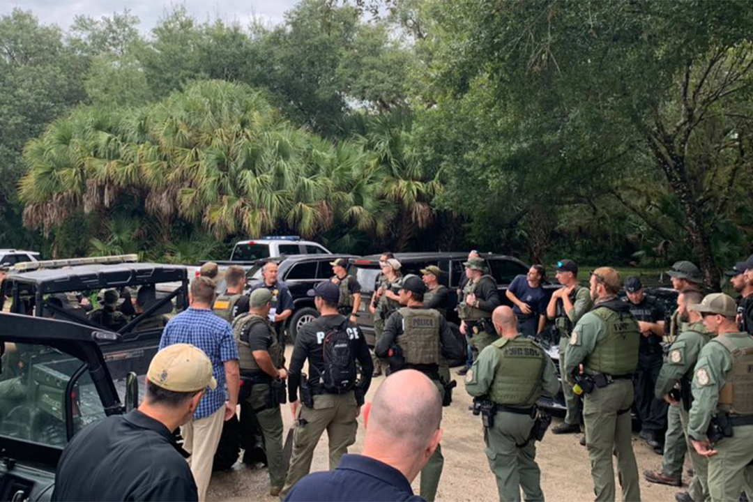 LIVE: North Port police, FBI search for Gabby Petito's fiancé at Carlton Reserve - WFLA