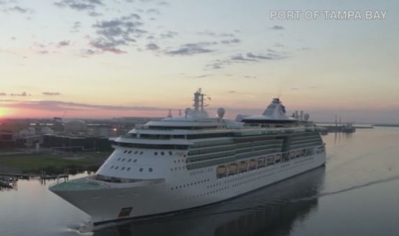 Picture of cruise at Port of Tampa Bay